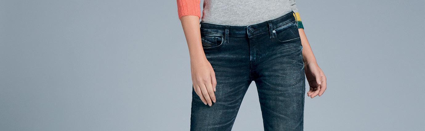 Super Skinny Jeans Femme Diesel
