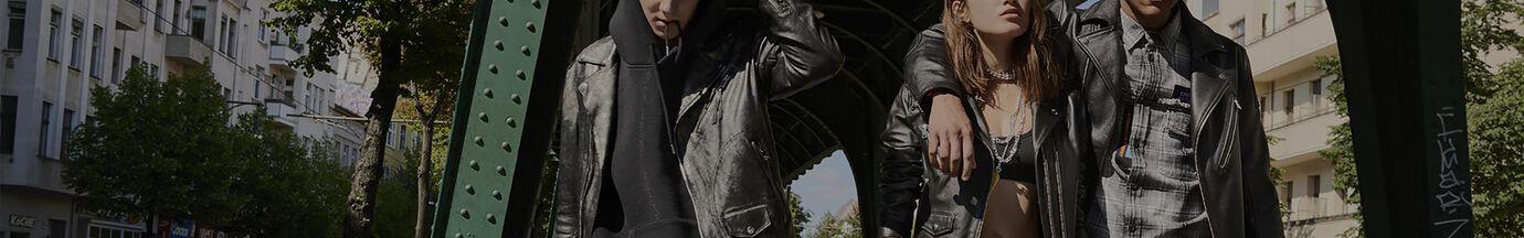 Vestes de cuir Homme Diesel