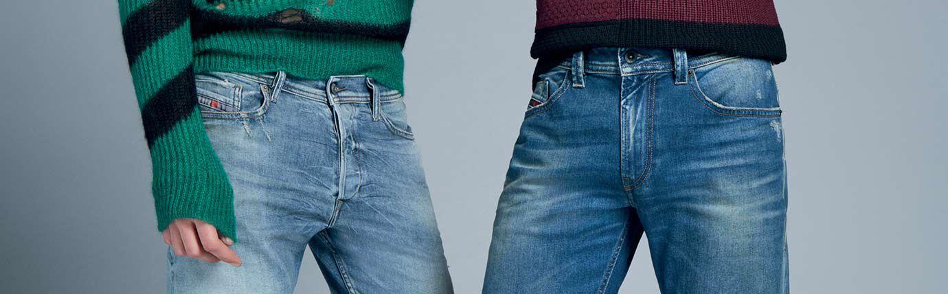 Treated Jeans Homme Diesel