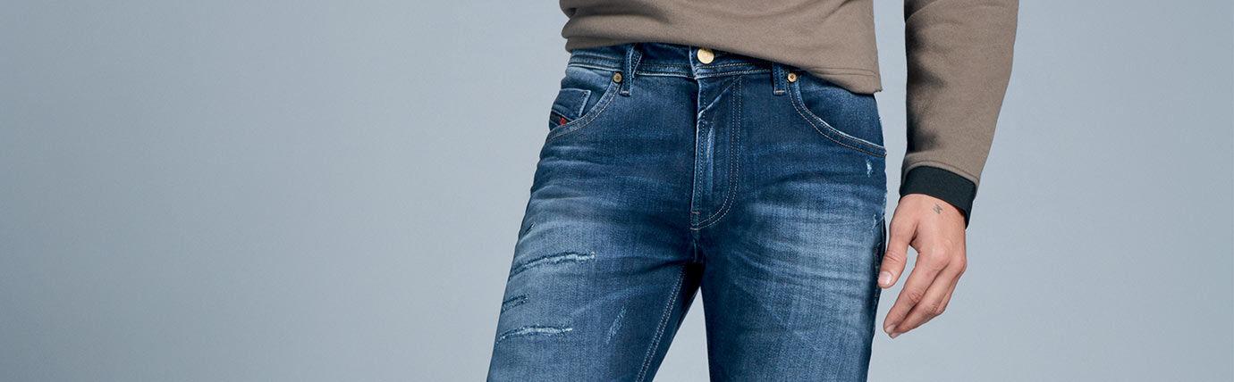 Skinny Jeans Homme Diesel