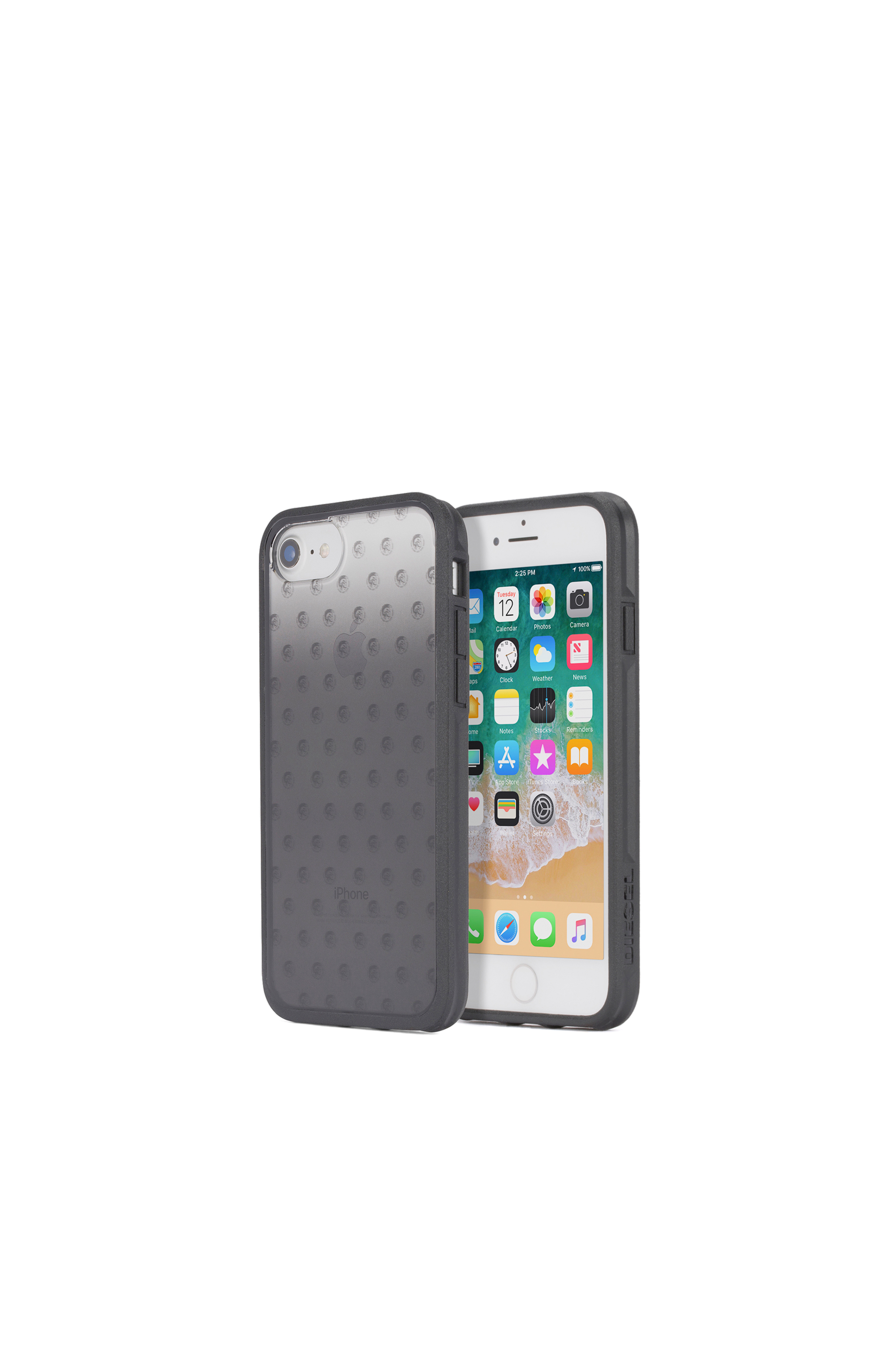 Diesel - MOHICAN HEAD DOTS BLACK IPHONE 8/7/6s/6 CASE,  - Coques - Image 1