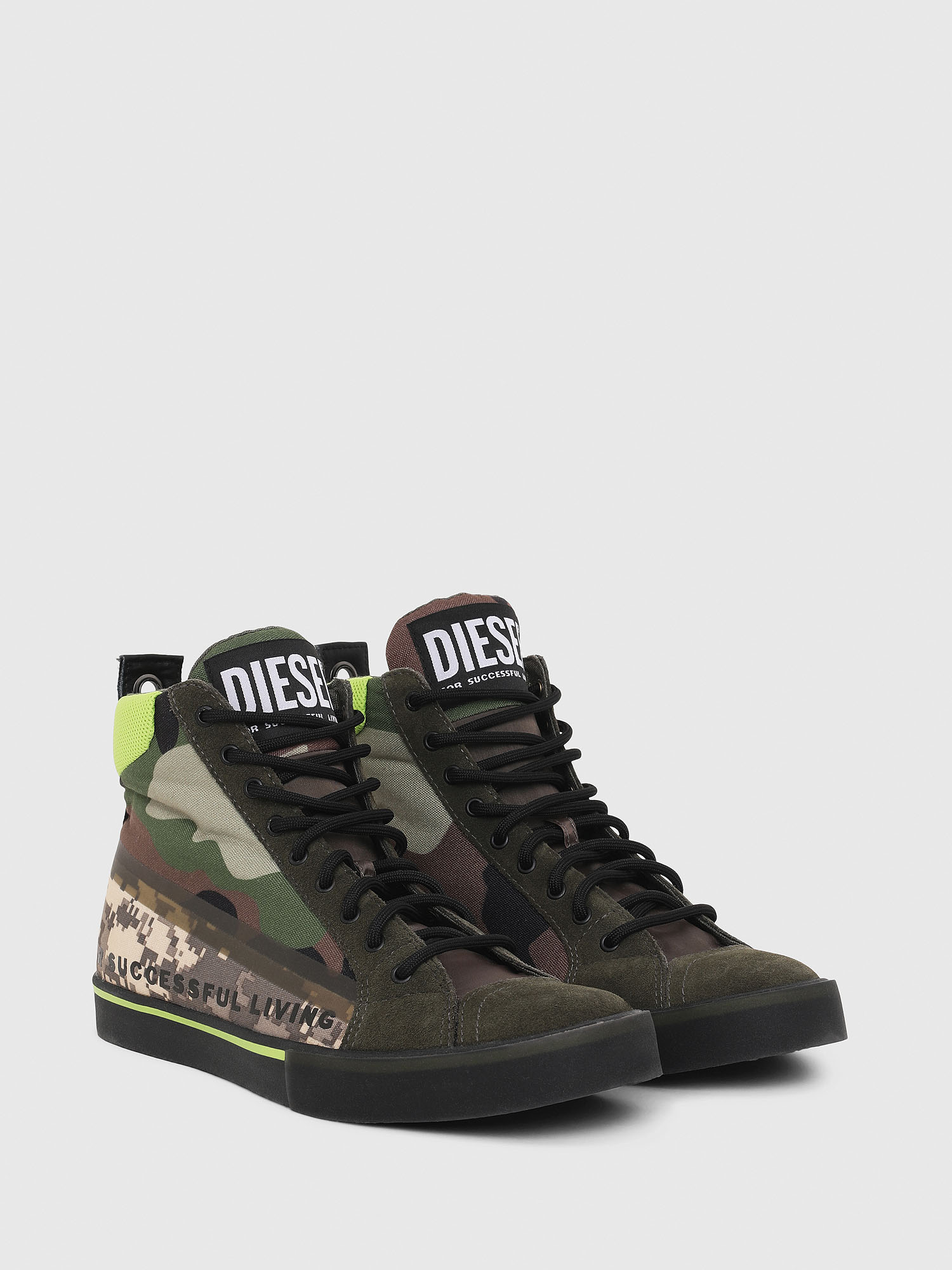 Diesel - S-DVELOWS MID,  - Baskets - Image 2