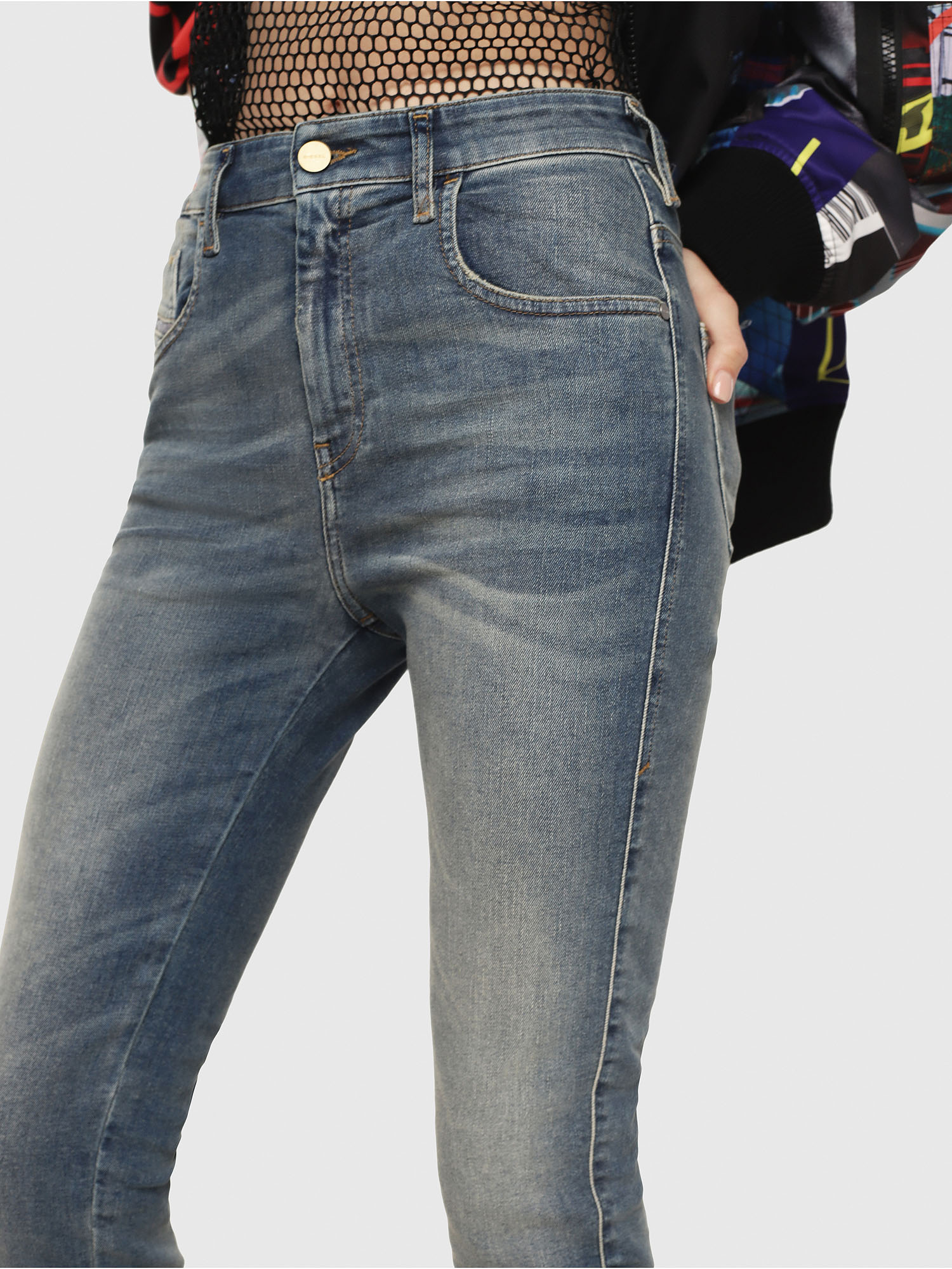 Diesel - Slandy High 085AZ,  - Jeans - Image 3