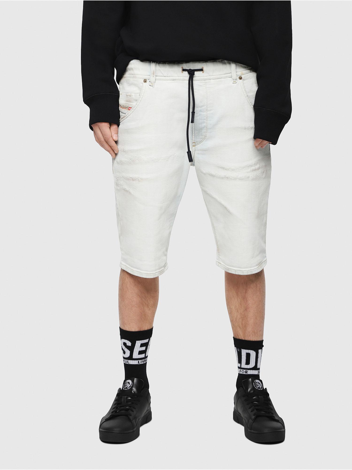 3e41152b300aa D-KROOSHORT-T Homme: Short en JoggJeans vieilli | Diesel