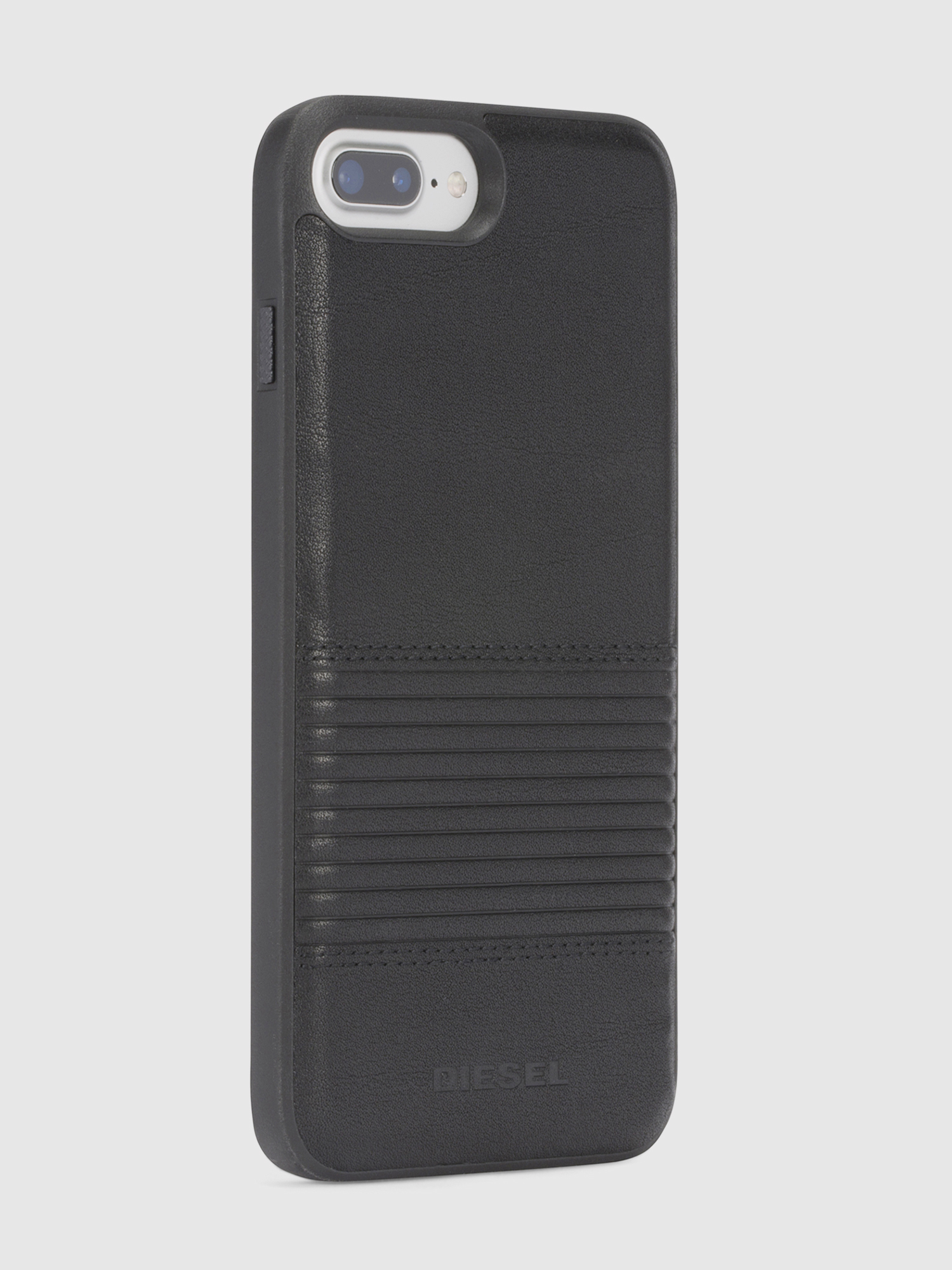 Diesel - BLACK LINED LEATHER IPHONE 8/7/6s/6 CASE,  - Coques - Image 5