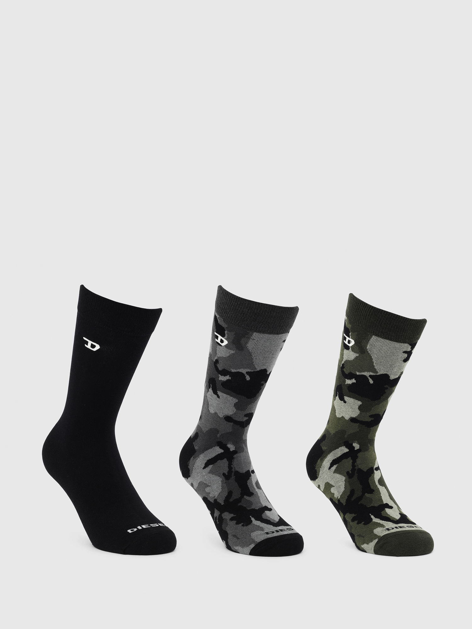 Diesel - SKM-RAY-THREEPACK,  - Chaussettes - Image 1